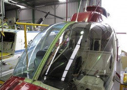Bell 206 Series Windshield